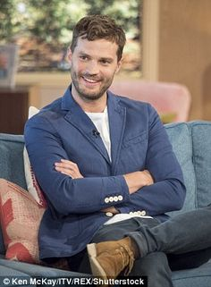 Candid: Jamie spoke openly about fatherhood on the show
