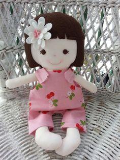 Dandelion Wishes - My friend Sage - made using the Elf Pop Saffron Doll Sewing Pattern