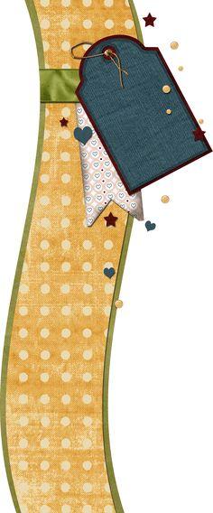 Scrapbooking TammyTags -- TT - Designer - Granny Enchanted,  TT - Item - Border, TT - Style - Cluster