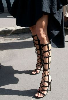 Fashion Week Street Style: The Best Shoes from the Spring 2014 Shows - theFashionSpot