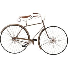 Ideal for transportation aficionados and modern decor dedicatees alike, this striking decorative wall bike is a beautiful addition to any home.