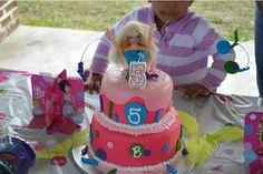 Kylie's Barbie cake