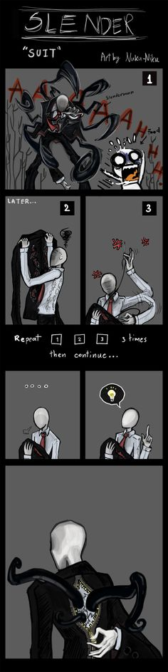 Slenderman : 'SUIT' by Nuku-Niku.deviantart.com on deviantART