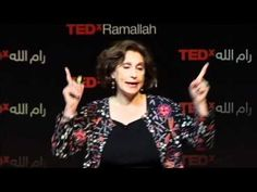 TEDxRamallah - Suad Amiry - My work My Hobby. Simply look inside you never at others. - YouTube