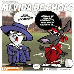 """Mi vida de cholo"" #ElCartonDelDia #DisfrutenloConLeche #Zheko_grafico #MonerosFutboleros"