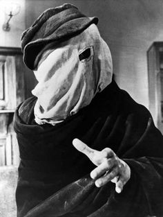 "John Merrick (John Hurt): ""I am not an elephant! I am not an animal! I am a human being! I am a man!"" -- from The Elephant Man (1980) directed by David Lynch"