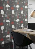 wallandimage/Tapete Designer/Tapete modern/Tapete Lamps/ Art NR.Ft36975 /Tapetenshop