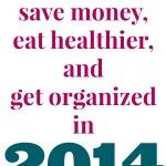 How to save money eat healthy.