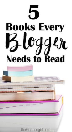 books every blogger