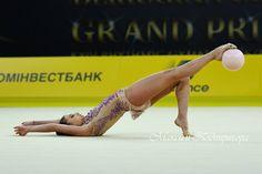 Katrin Taseva (Bulgaria) won SILVER in ball at Grand Prix (Kiev) 2018