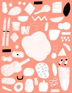 Colour blocking and pattern making // from Hanna Konola | Wrap magazine