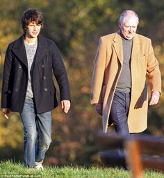 In good company! Ben was joined by co-star Jim Broadbent London Spy, Ben Whishaw, Got Him, Good Company, Picture Show, Thriller, Behind The Scenes, Camel, Actors