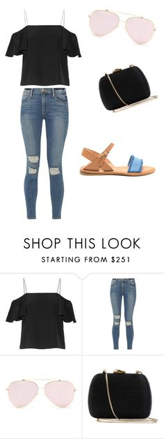 """jeans 2"" by espejo-diana on Polyvore featuring moda, Fendi, Frame y Serpui"