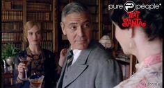 George Clooney dans le teaser d'un épisode de Noël pour la série Downton Abbey.