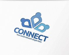 Check out People connect Logo by OrangeMango on Creative Market