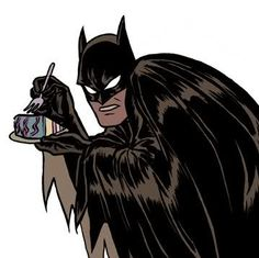 Batman's secret weakness was pastry.