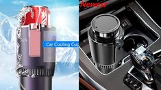 Car Heating Cooling Cup 2 in 1 Car Office Cup Warmer Cooler Smart Car Cu...