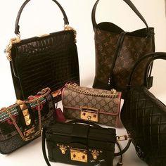 Gucci, Louis Vuitton, Chanel and Valentino