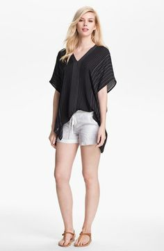 How hard could it be to sew this $325 shirt??? Vince Silk Blouse available at #Nordstrom