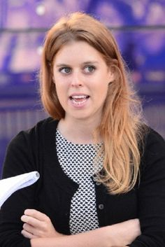 Princess Beatrice of York attends the Virgin STRIVE Challenge at The O2, Peninsula Square. In London, 07.08.2014