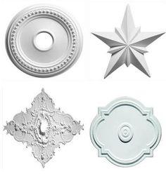Ceiling Medallion Wall Art ceiling fan medallions | m4-33 ornamental plaster ceiling