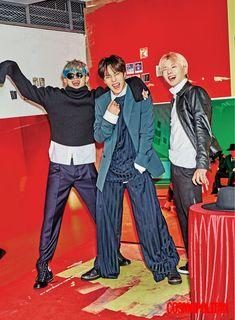 Wonho + Minhyuk + Kihyun (MONSTA X)