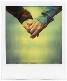 {love hands} polaroid print