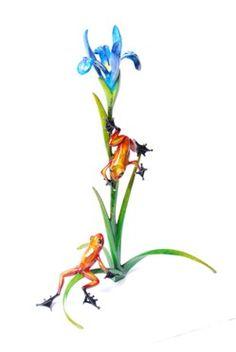 Iris by FROGMAN Tim Cotterill Bronze Sculpture