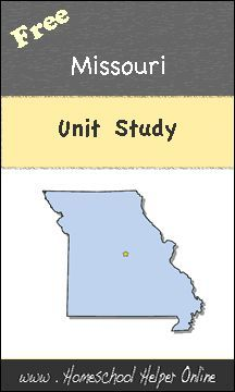 Free Missouri Unit Study - Homeschool Helper Online