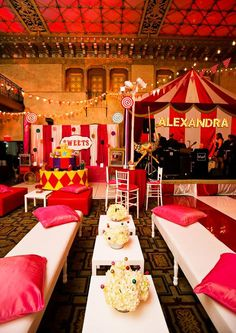 Vibrant Carnival Bat Mitzvah Theme Ideas