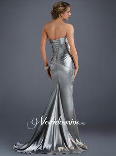 Elegante Sirena Vestidos de Noche
