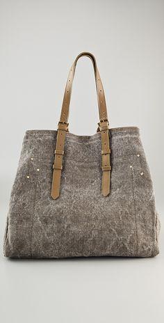 Jerome Dreyfuss Pat Toile Tote Bag | SHOPBOP
