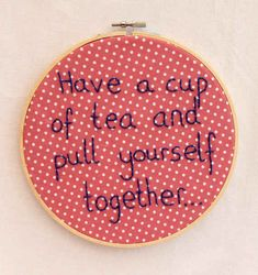 19 Motivational Embroideries You'll Actually Want To Own