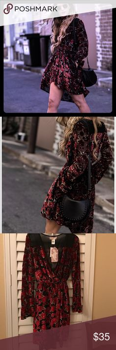 🌹Bewitching Band of Gypsies dress- NWT🌹 This dress!! Band of Gypsies dress that epitomizes the brand. Sheer accents. String tie in back. Sleeves are slightly sheer. Can't say enough about this dress! 🌹🌹🌹🌹🆕 Band of Gypsies Dresses