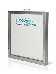 A Flood Barrier Installation To A Set Of French Doors