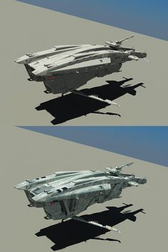WIP: Guard ship by SmirnovArtem on DeviantArt