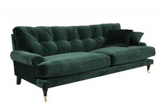soffa-grön-sammet-howard