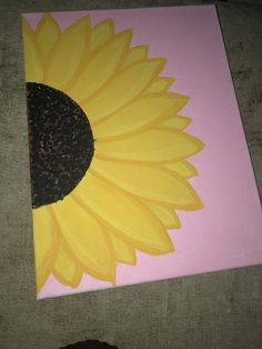 37 Easy Canvas Painting Ideas You Can DIY painting ideas on canvas;acrylic canvas painting ideas; DIY painting for beginners; 37 Easy Canvas Painting Ideas You Can DIY Sunflower Canvas Paintings, Small Canvas Paintings, Flower Painting Canvas, Easy Canvas Art, Small Canvas Art, Mini Canvas Art, Simple Acrylic Paintings, Canvas Ideas, Acrylic Canvas