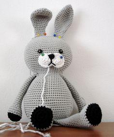 Bunny  free crochet pattern by AmigurumiBB