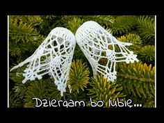 Dziergam Bo Lubię - YouTube Thread Crochet, Knit Crochet, Crochet Hats, Crochet Flower Squares, Crochet Flowers, Christmas Balls, Christmas Ornaments, Christmas Crochet Patterns, Crochet Tablecloth