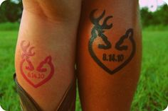 Cowboy & cowgirl tats. Couples can put their wedding date in the middle the idea of temp tats for favors is pretty fun especially for the kiddos