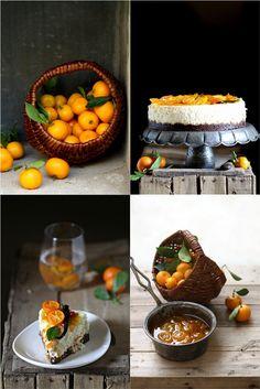 Kumquat Quark Cheesecake #quark #cheesecake #glutenfree #kumquat #baked