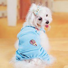 Linda Lollypop Padrão Urso Quatro calças perna para Animais de estimação Cães (tamanhos variados) – BRL R$ 42,46