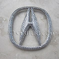 crystal bling acura emblems choose your set