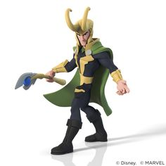 ArtStation - Loki for Disney Infinity 2.0, Shane Olson