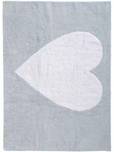 Bambini Heart Kid's Rug Blue