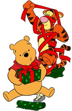 tigger and pooh wrapping