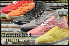 Tyvek Shoes Unstitched Utilities