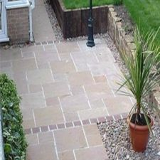 Indian Sandstone patio,Indian Sandstone patio Kits,patio Kits,Sandstone patio Kits,Indian Sandstones – Home decoration ideas and garde ideas Gravel Patio, Garden Paving, Garden Paths, Garden Slabs, Garden Types, Back Gardens, Small Gardens, Patio Design, Garden Design
