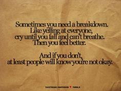 it's all okay
